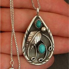 leaf, Jewelry, bohemiannecklace, Women jewelry