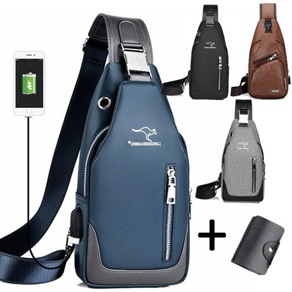 waterproof bag, Shoulder Bags, usb, Messenger Bags