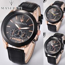 Luxury Watch, quartz, maserati, business watch
