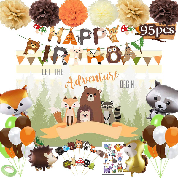 woodlandpartysupplie, babyshowerdecoration, partydecorationsfavor, birthdayballoon
