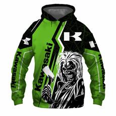 hoody sweatshirt, kawasakimotorcycle, Outdoor, Fashion