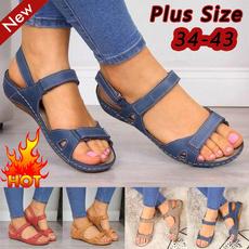 non-slip, wedge, Sandals, Fashion