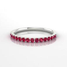 Sterling, Silver Jewelry, DIAMOND, Simple