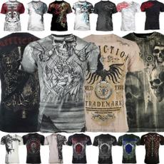 , tattoo, walking, Shirt
