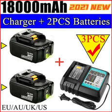 powertoolbatterie, makitabl1830battery, Battery, charger