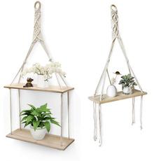 Plants, macrame, living room, Decor