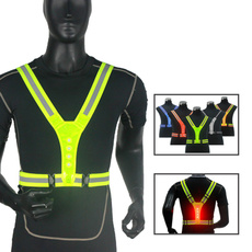 Vest, Outdoor, runningvest, ledvest