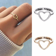 Heart, Love, Jewelry, friendshipring