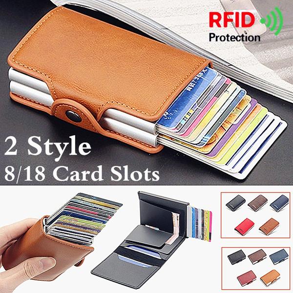leather wallet, card slots, rfidwallet, Wallet