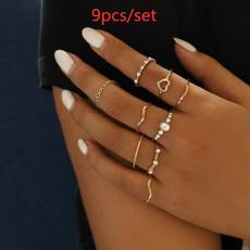 Heart, Love, Jewelry, Geometry
