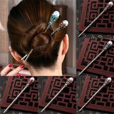 Hair Clip, Crystal, Elegant, Vintage