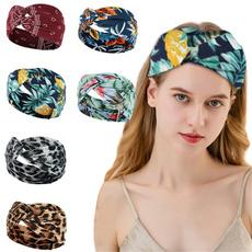 printflowerheadband, Wool, turban, Vintage