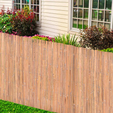 brown, Bamboo, Outdoor, gardenfencing
