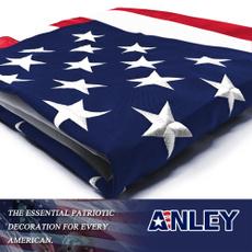 Heavy, Brass, american flag, Heavy Duty