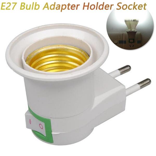 bulbadapter, lampconverter, Aluminum, e27adapter