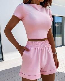 Summer, Shorts, ladiesspringclothe, runningclothe