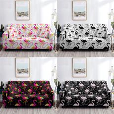 flamingo, couchcover, indoor furniture, Sofas