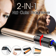 Hair Curlers, Straightening Iron, Travel, Ceramic
