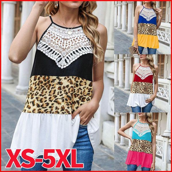 Vest, Fashion, leopard print, womensleisure