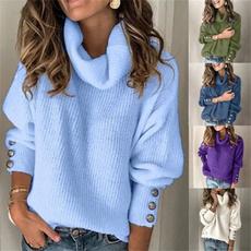 womens knitwear, Plus Size, Winter, Gel