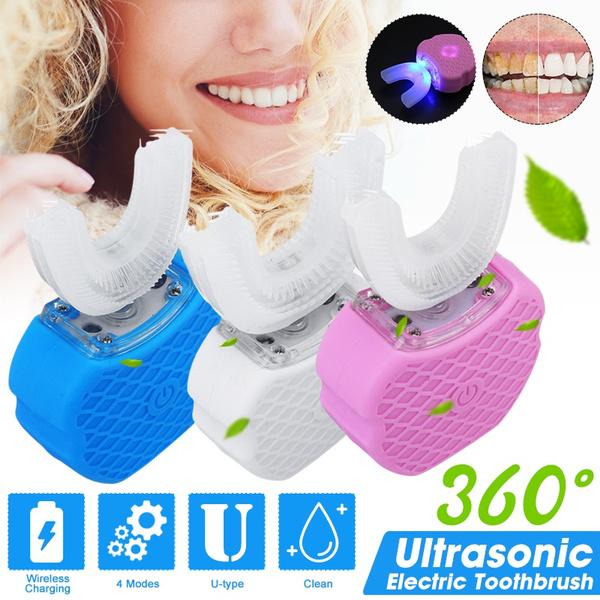 ultrasonictoothbrush, automatictoothbrush, lights, teethwhitening