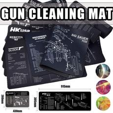 guncleaning, glock, ak47gun, mouse mat