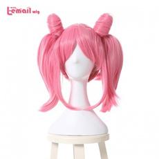 wig, pink, Cosplay, chibi