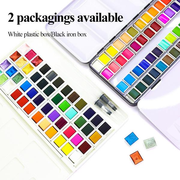 Box, Art Supplies, art, watercolorset