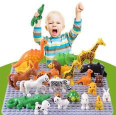 Toy, Farm, animalsampfigure, bigsizeblock
