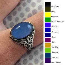 Jewelry, colorchangingmoodring, Vintage, antiquesilver