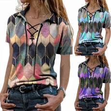 blouse, summer t-shirts, Shirt, Women Blouse