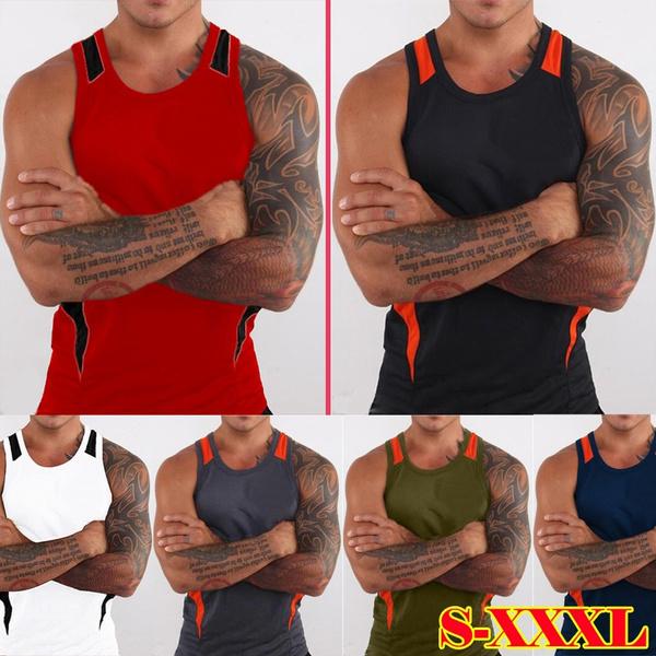 Vest, Fashion, trainingtanktop, undershirtmen