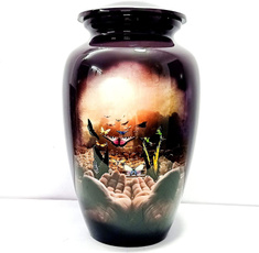 memorialashurnpendant, cremationurnsforhumanashesmemorialkeepsake, purple, cremationurnsforhuman