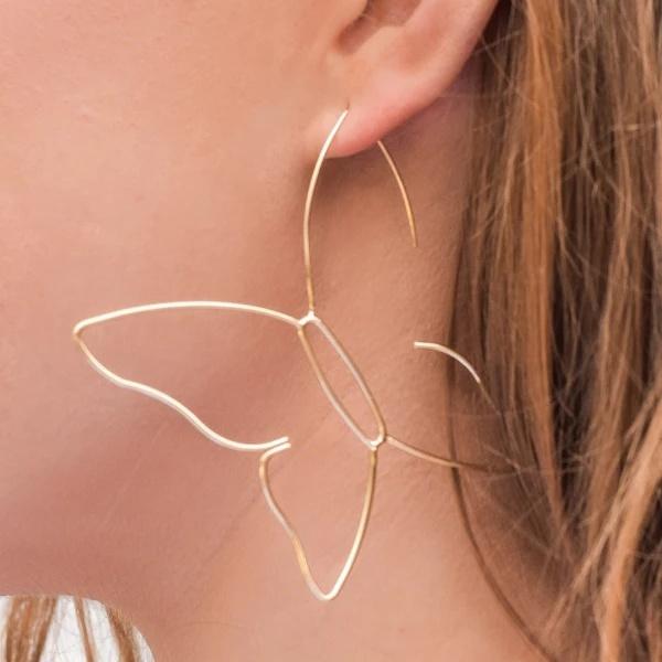butterfly, King, earrings jewelry, Butterflies