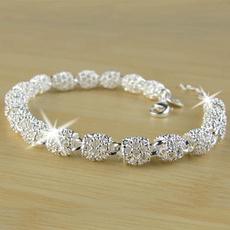Charm Bracelet, Sterling, Fashion, Jewelry
