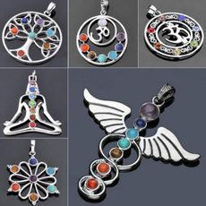 menpendant, 7chakrapendant, treeoflifependant, Jewelry
