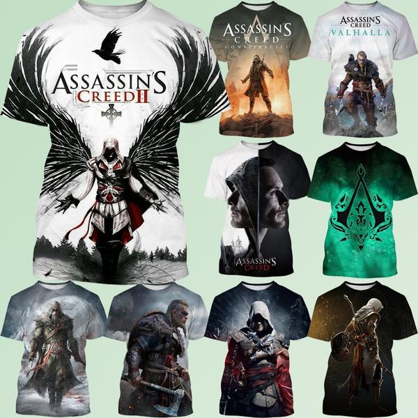 assassinscreedtshirt, Fashion, Necks, Sleeve