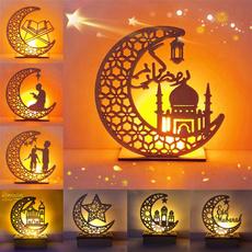 decorationornament, eidmubarak, Wooden, lights