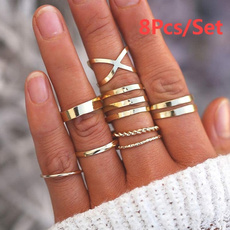 Gifts For Her, stackablering, Jewellery, 925 silver rings