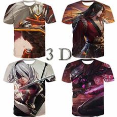 Tops & Tees, mens tops, 3dprintedtshirt, summer t-shirts