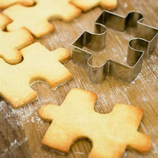 Steel, caketool, puzzleshape, cookiesmold