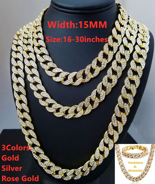 Bling, icedoutchain, Jewelry, Chain