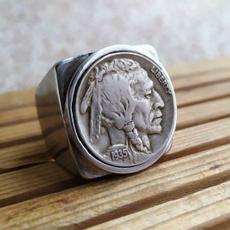 Sterling, ringsformen, Head, hip hop jewelry