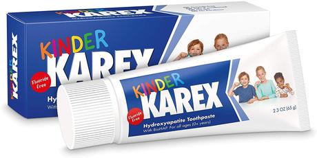 Toddler, karex, Toothpaste, Tubes