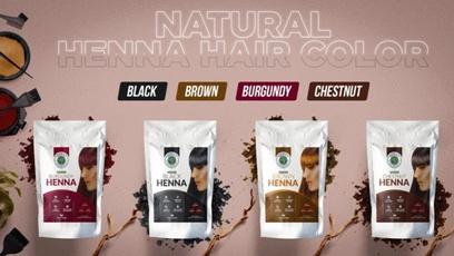 brown, henna, indigo, hennahaircolor