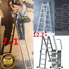 Aluminum, aluminumladder, ladder, portableladder