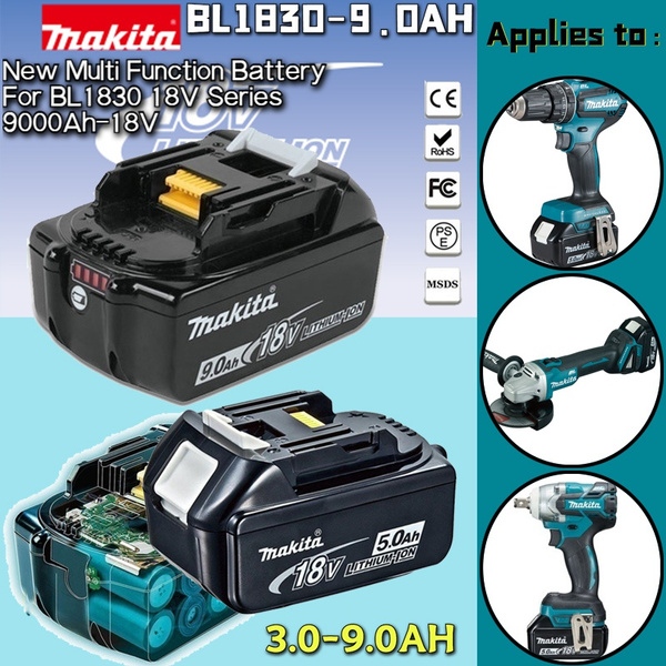 makitabl1860, dewalt, led, Battery
