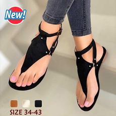 Summer, Flip Flops, Sandalias, flat shoe