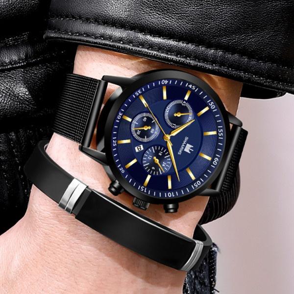 quartz, wristwatch, Stainless Steel, Watch