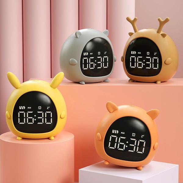 cute, led, Alarm Clock, Gifts